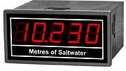 panel meter with large digits